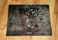 Far Cry Primal Rare Promo Press Kit Booklet Ad Advertising PS4 Xbox One Ubisoft