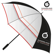 """""""40% OFF"""" SUNDERLAND CLEARVIEW 60"""" PERFORMANCE DUAL CANOPY VENTED GOLF UMBRELLA"""