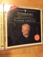 Tchaikovsky: Piano Concerto No. 1. Chopin: Piano Concerto No.2. Penguin Music CD