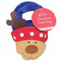 Christmas Felt Treat & Gift Bag Kids Children Xmas bags Reindeer
