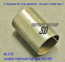 Bsa 68-3178 bush constant mash a50 a65 Lightning Thunderbolt engranaje principal ola