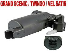 RENAULT GRAND SCENIC TWINGO VEL SATIS TWIN OUTLET WASHER PUMP 12V