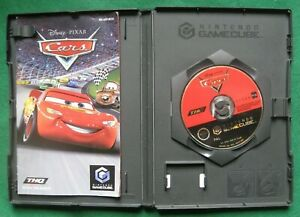 Nintendo GameCube Game - CARS -With Instruction Booklet
