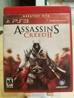 Assassin's Creed II 2 Greatest Hits CIB (Sony PlayStation 3 PS3) Ships Free