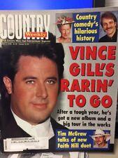 Country Weekly-3/3/98 Vince Gill Tim McGraw  Alabama Sammy Kershaw