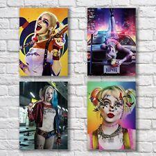 Margot Robbie Poster A4 HQ NEW Set Sexy Harley Quinn Home Wall Decor