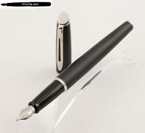 Waterman Hemisphere Fountain Pen in Matte Black C.C. with M or F-nib