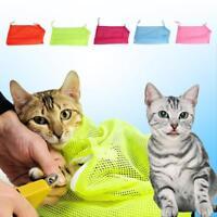Hot Pet Dog Grooming Nail Bathing Restraint Bag No Bite Scratch Fit Mesh - LD
