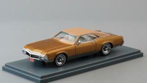 Buick Riviera GS Gold Metallic 1969 1:43 NEO 44425