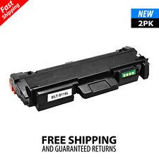 2Pack MLT-D116L Toner For Samsung 116L Xpress SL-M2885FW M2835DW SL-M2625D M2825