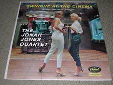 "JONAH JONES (VG+) 1958 Swingin' At The Cinema (EX) 12"" Capitol Jazz LP T1083"