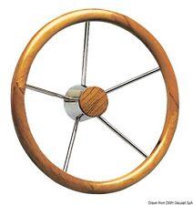 Timone inox e legno 400 mm   Marca Osculati   45.165.02