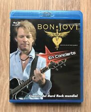 Bon Jovi Blu Ray Live Art Times Square 2008 Factory pressed in México