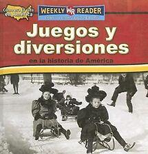 Juegos Y Diversiones En La Historia De America/toys, Games, and Fun in-ExLibrary