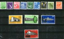 Nigeria 1961 Yvert 97-109