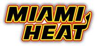 Miami Heat NBA Basketball Slogan Logo Car Bumper Sticker - 3'', 5'', 6'' or 8''