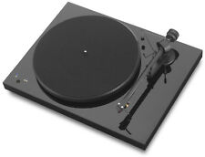Pro-Ject debut recordmaster tocadiscos negro electricistas .33/45 rpm USB out Phono -
