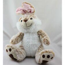 Doudou lapin beige marron blanc tout doux SIMBA TOYS NICOTOY - Lapin Classique