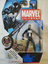 Marvel Universe Black Costume Spider-Man 3.75 Inch Hasbro Action Figure 018 suit