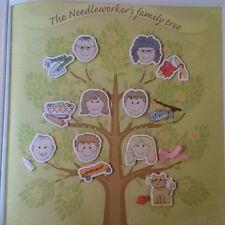 Cross stitch chart-Albero genealogico campionatore da JENNY Barton