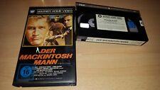 Der Machintosh Mann - Paul Newman - Warner Home Erstauflage - VHS