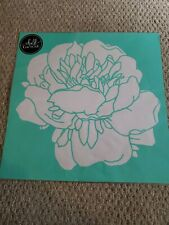 Chalk Couture Transfer Abstract Flower  New size D never used