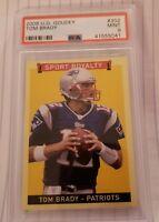 Tom Brady PSA 9 MINT 2008 Upper Deck Goudey Sport Royalty #302 Patriots