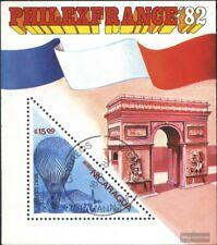 Nicaragua Blocco 144 (completa Edizione) usato 1982 PHILEXFRANCE ´82