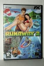 RUNAWAY 2 GIOCO USATO OTTIMO STATO PC DVD VERSIONE ITALIANA GD1 42494