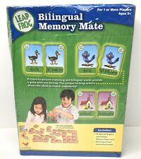 Leap Frog Memory Mate Bilingual Language Development Sight Words Spanish Memory