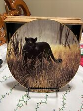 """""""Powerful Presence� Collector Plate By Charles Frace 1991"""