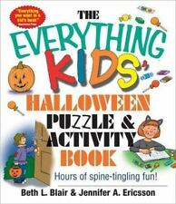 Everything Kids' Halloween Puzzle And Activity Book: Mazes, Activities, And Puzz