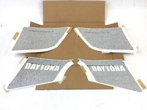 Dodge Charger Daytona left right rear quarter panel Decal upper lower set OEM