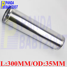 L 300mm Chrome Polish 12 inch 45 Degree 89mm OD 3.5 For Intercooler Pipe//Intake Pipe//Universal Aluminum Alloy Pipe Tube