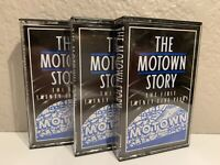 THE MOTOWN STORY The First 25 Years Set 3 Cassette Tapes Temptations Marvin Gaye