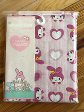 "NIP My Melody Sweetheart by Sanrio Tailored Valance 60"" x 14"" Pink Heart Bunny"