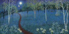 JO Grundy (Azul Luna) Lona Caja Estampa 100cm x 50cm wdc93266