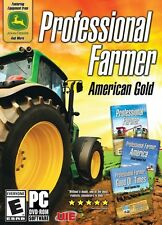 Professional Farmer American Gold PC Games Windows 10 8 7 XP farm simulator NEW
