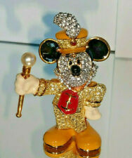 Swarovski Disney Arribas Figur Mickey Maus Bandleader Mickey Mouse