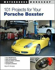 Boxster Manual 101 Project Upgrade Book  Service Engine Brakes Porsche 986 987 S