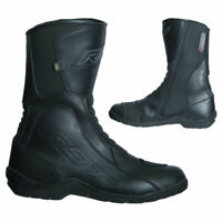 RST Tundra CE Waterproof Motorbike Motorcycle Leather Boots Black