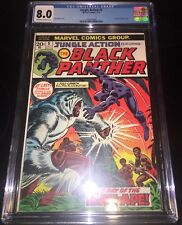 (1972) MARVEL JUNGLE ACTION #5 1ST SOLO BLACK PANTHER STORY KEY - CGC 8.0 VF