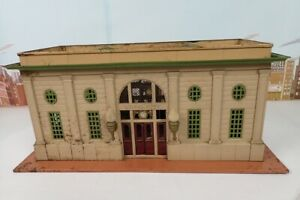 "Vintage Prewar Lionel No.116 Large Lionel City Station To Restore - 19-1/2"" Long"