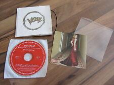 DIANA KRALL Chrismas Songs 2005 GERMANY promo issued CD album