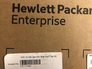 HPE DL325 Gen10+ Plus Maximum Performance Fan Kit Proliant G10+ P37110-B21