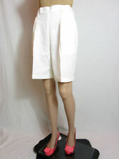 Patternless High Tailored Shorts for Women