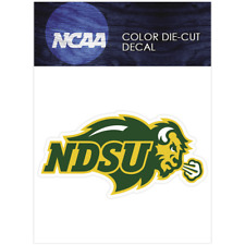 North Dakota State Bison Logo NCAA Die Cut Vinyl Car Sticker Bumper Window