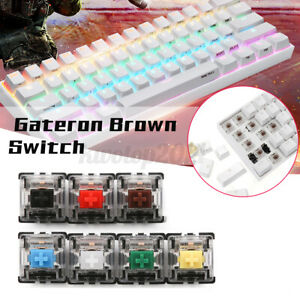 Gateron Optical Switch DIY Replaceable Switches for Mechanical Gaming Keyboard