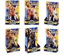 MATTEL WRESTLING WWE STRIKERS 18 CM SQUEEZE LEGS! EDITION 6 SOGGETTI CON MOSSA