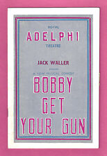 """Bobby Howes """"BOBBY GET YOUR GUN"""" Gertrude Niesen 1938 London Program"""